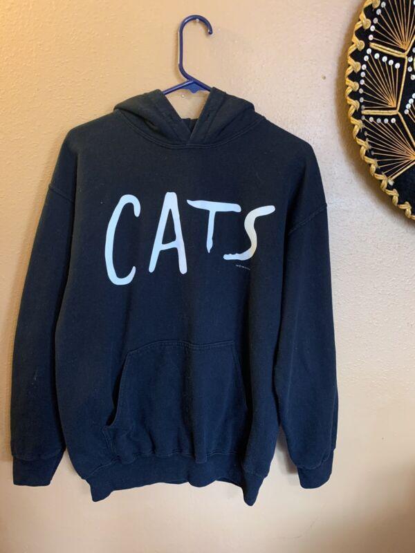 CATS 1981 Vintage Black Sweatshirt Hoodie - M