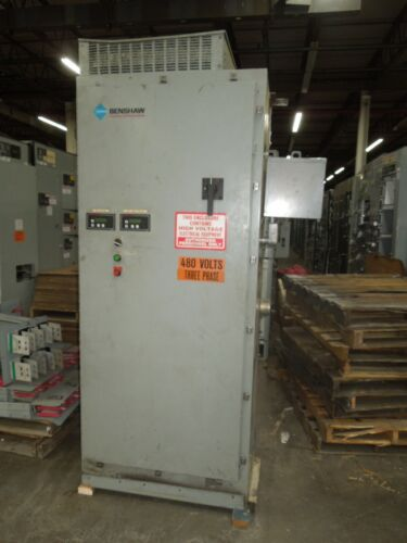 Benshaw CBSMRSM6SB-250-480-12 250HP 302A 480V Solid State Soft Starter w/Breaker
