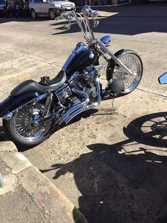 Harley Davidson Dyna Wide Glide Belfield Canterbury Area Preview
