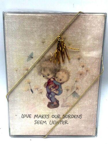 "Hallmark Miniature Gallery Canvas Art Print  BETSEY CLARK ""Art of Kindness"" NIP"