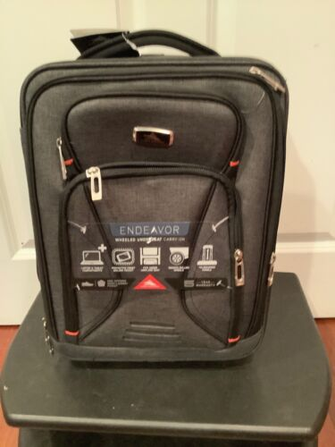 High Sierra Endeavor Wheeled Underseat Carry-On Travel Lugga
