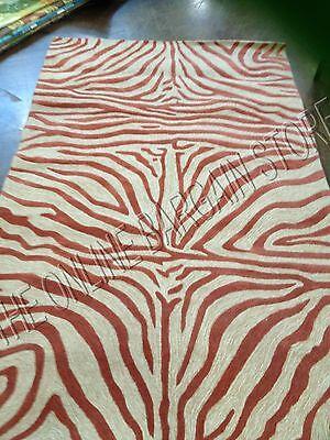 Terrace Patio Rug - Frontgate Terrace Zebra Stripe Area Rug Mat Indoor Outdoor Patio 5x8 Brick