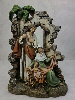 Statues Figures Holy Family Nativity Vatican
