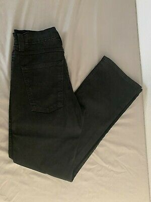 Nudie Jeans Co Mens Black Demin Jeans Waist 36 Length 34