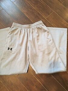 Grey Under Armour Track Pants
