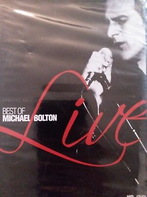 MICHAEL BOLTON - BEST OF MICHAEL BOLTON LIVE RARE DVD *SEALED* free