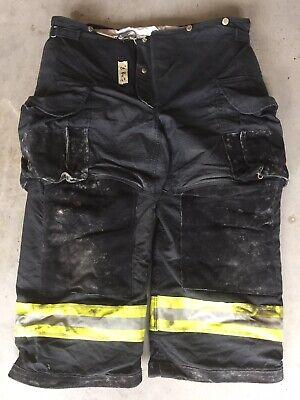 Firefighter Janesville Lion Apparel Turnout Bunker Pants 42x26 06 Black Costume