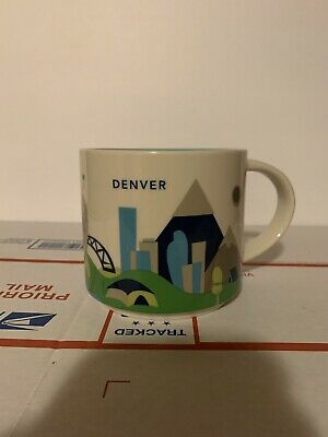 Starbucks Coffee DENVER 14oz Mug 2015 You Are Here Cup