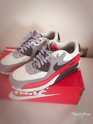 Nike Air Max 90, Wolf Grey and (Nike Air Max 90 Red And Grey)