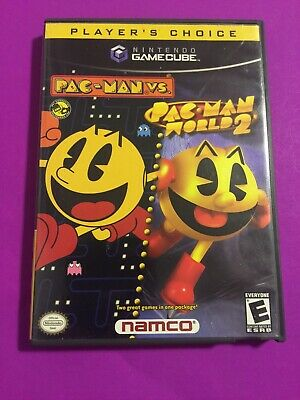 Pac Man vs. Pac Man World 2 Nintendo Gamecube Player's Choice Complete CIB