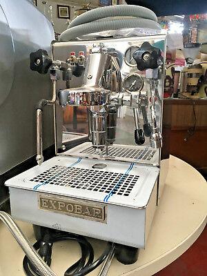 Expobar Office Leva 1 Gr Espresso Machine With 2 Boilers