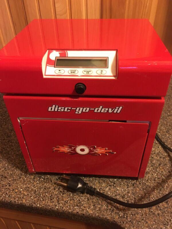 Disco-go-devil. Disc Repair Machine. Untested
