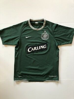 Celtic jersey shirt 2007/2008 away official nike soccer football size Small image