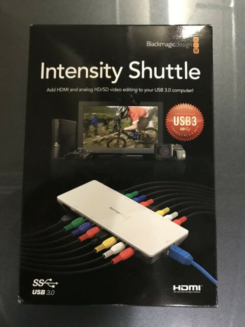 Blackmagic Design Intensity Shuttle For Usb 3 0 Components Gumtree Australia Ryde Area Epping 1265886376