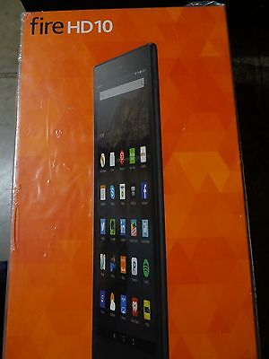 Brand New Amazon Fire HD 10 (5th generation) 16GB, Wi-Fi 10.1in - Black Sealed