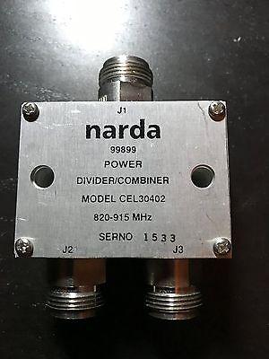 Genuine Narda Cel30402 Power Dividercombiner 820 - 915 Mhz