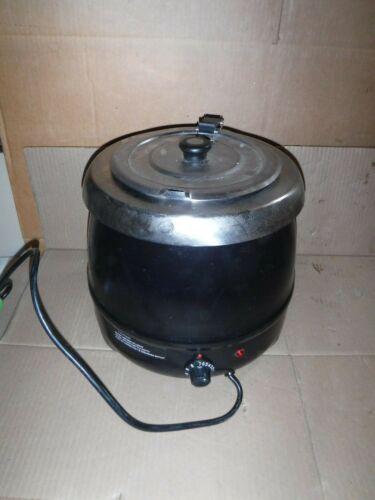 Avantco 11 Qt Black Electric Food Soup Kettle Warmer
