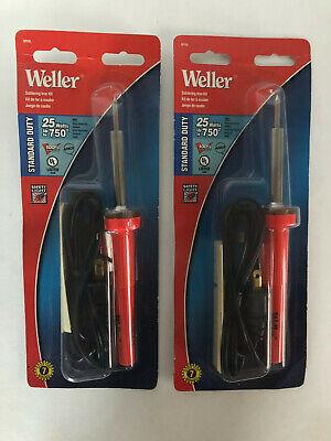 Qty 2 - Weller Sp232l Soldering Iron Kit 120 V 60 Hz