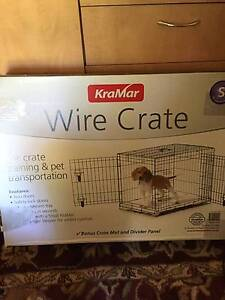 Dog Puppy Wire Training Transportation Crate Belair Mitcham Area Preview