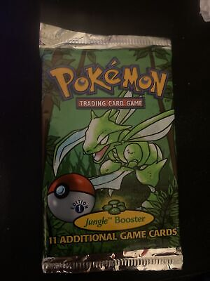 jungle booster pack 1st edition unweighed
