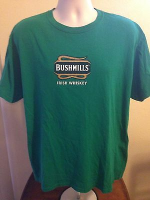 VINTAGE BUSHMILLS IRISH WHISKEY IRISH AT IT'S BEST T SHIRT