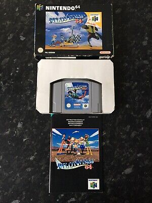 Pilotwings 64 - N64 Nintendo 64 - Boxed With Instructions