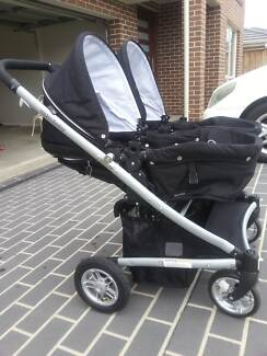 Valco baby twin stroller Horningsea Park Liverpool Area Preview