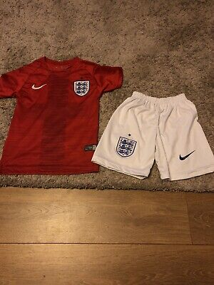 ENGLAND AWAY KIT BY NIKE. AGE 7-8 YEARS