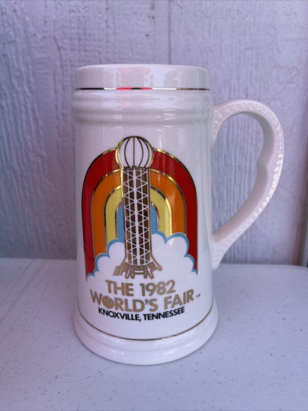 Vintage Beer Stein 1982 World