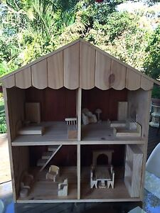 Handmade Timber / Wooden Doll House Cronulla Sutherland Area Preview