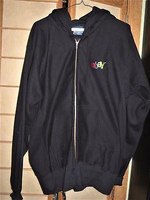 eBay Men's Navy Blue Hooded Sweatshirt-Medium (on the large side) Catalogs Team