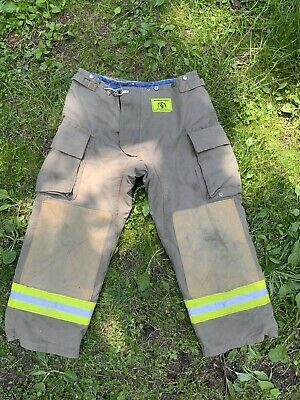 Morning Pride Fire Fighter Turnout Pants 36x28 Bunker Gear 2786