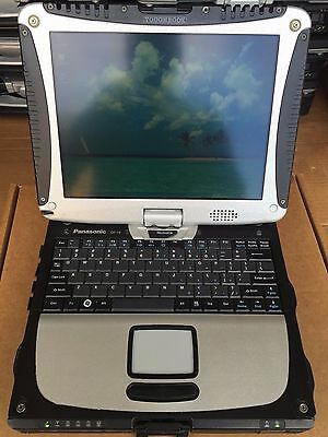 Panasonic Toughbook CF-19 Rugged Laptop tablet 2gb 160gb MK1 WinXP Non Touch