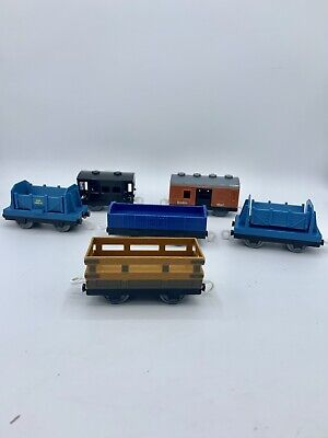 Thomas & Friends Trackmaster For Motorized Sets Empty Cargo Cars Mail Flatbed