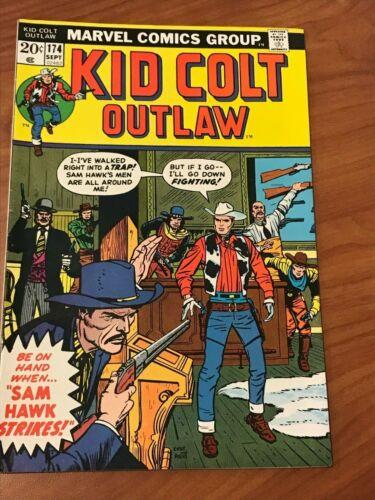 Kid Colt Outlaw #174 Marvel Comics 1973 VF-