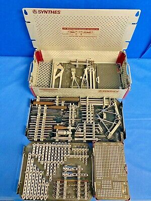 Synthes Stainless Steel Small Fragment Set Lcp Locking Orthopedic Trauma