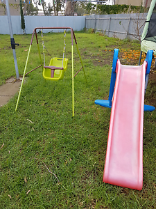 outdoor swing and slippery dip Oaklands Park Marion Area Preview