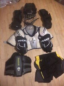 Lacrosse player gear