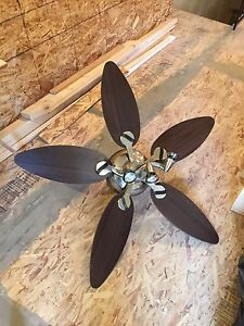 Modern Ceiling Fan Light with second light for spare parts