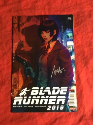 BLADE RUNNER 2019 #1~TITAN COMICS~SIGNED BY STANLEY ARTGERM LAU~NM~C