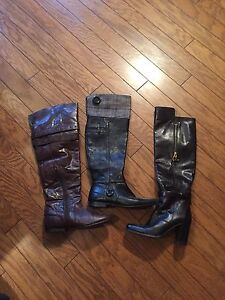 Leather boots- amazing condition! European Size 36/37