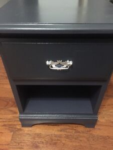 Navy end table