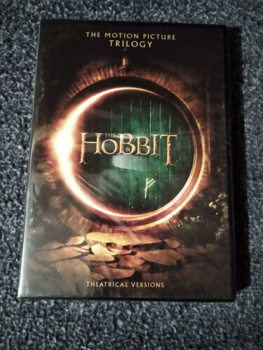 Hobbit: The Motion Picture Trilogy (DVD, 2018, 6-Disc Set) Free Shipping!