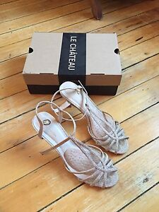 prom Le chateau heels worn once size 9