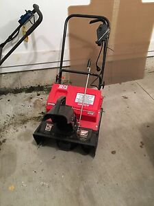 2.0 electric snow blower