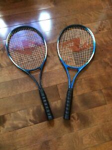 2  Raquettes de tennis ACRO DYNAMIC   Comme neuf