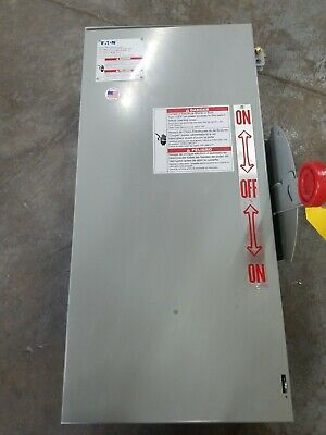 Cutler Hammer Dt321urkn 3p 240v 30a Manual Transfer Switch Non-fused Nema 3 New
