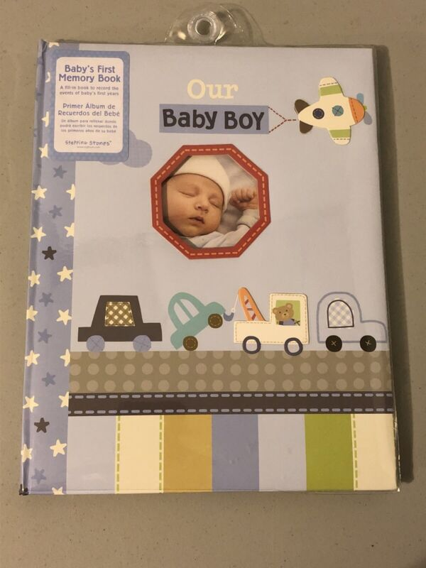 Baby's First Memory Book - Stepping Stones