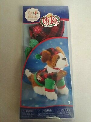 THE ELF ON THE SHELF PETS DOG OUTFIT ST BERNARD NEW IN BOX