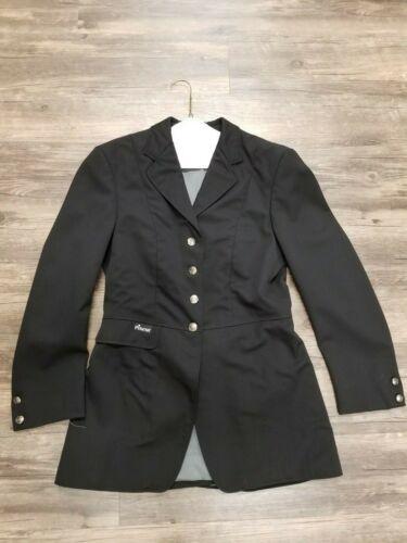 Pikeur Show Coat - Ladies Approx 14 - Black